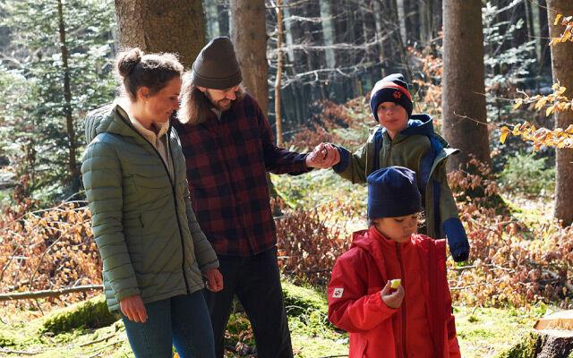 Dzieci Rodzinne piesze wycieczki