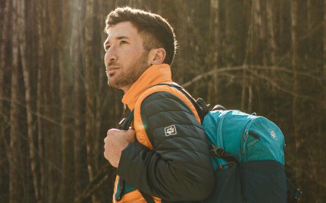 Mężczyźni Infinite Hike – turystyka górska