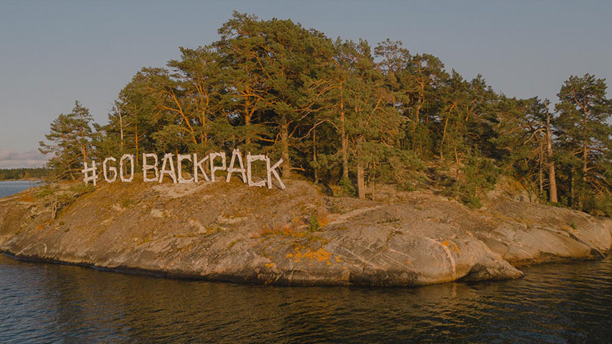 GoBackPack Camp banner